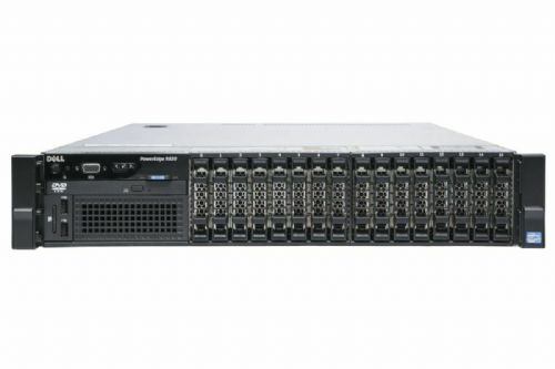 "Dell PowerEdge R820 4x Six-Core E5-4610 32GB RAM 16x 2.5"" HDD Bay 2U Rack Server"